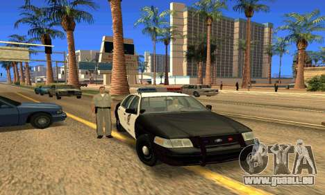 Ford Crown Victoria Police LV pour GTA San Andreas