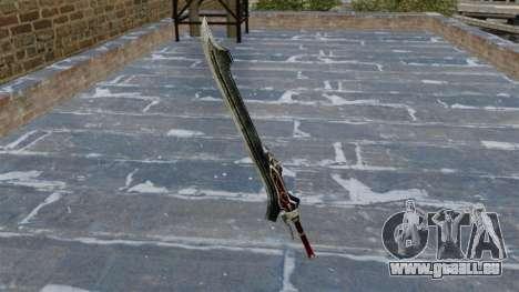 Schwert-Red Queen- für GTA 4