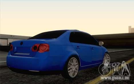 Volkswagen Jetta pour GTA San Andreas laissé vue