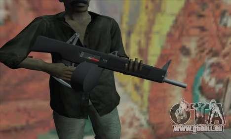 AA-12 pour GTA San Andreas troisième écran