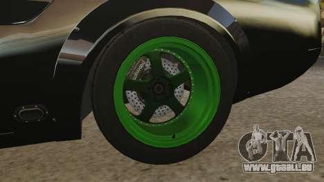 Ford Mustang RTRX für GTA 4 Rückansicht