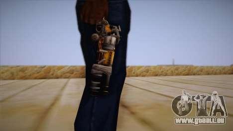 Le pistolet de Bulletstorm pour GTA San Andreas troisième écran