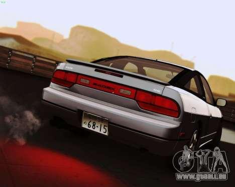 Nissan 240SX S13 v1.0 pour GTA San Andreas laissé vue