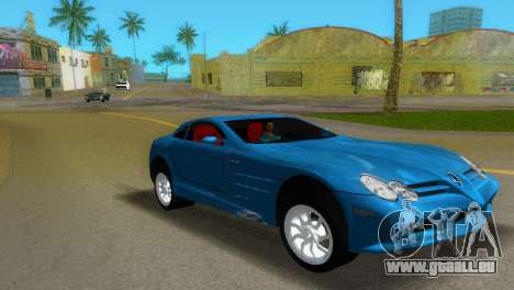 Mercedes-Benz SLR McLaren für GTA Vice City