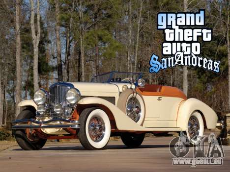 New loadscreen Old Cars für GTA San Andreas sechsten Screenshot
