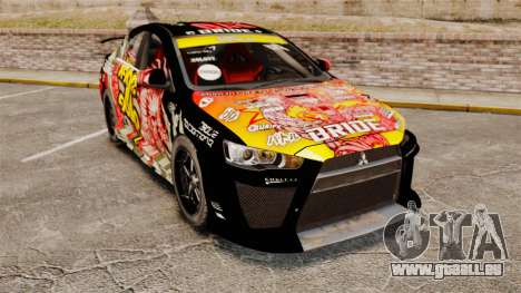 Mitsubishi Lancer Evolution X Ryo King für GTA 4