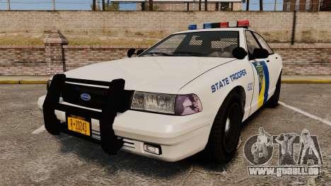 GTA V Vapid State Police Cruiser [ELS] pour GTA 4