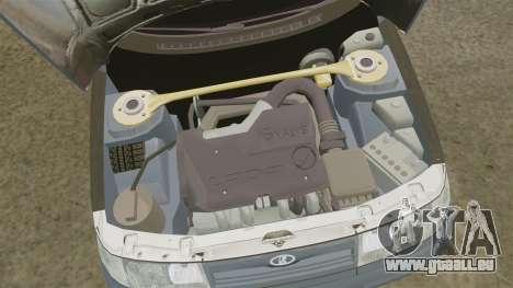 Vaz-2110 pour GTA 4 Vue arrière