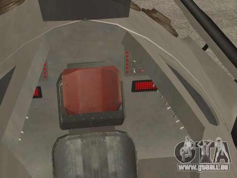 FARSCAPE modul für GTA San Andreas obere Ansicht