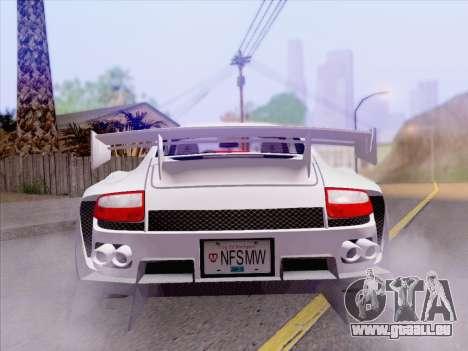 Porsche Carrera S pour GTA San Andreas vue de côté