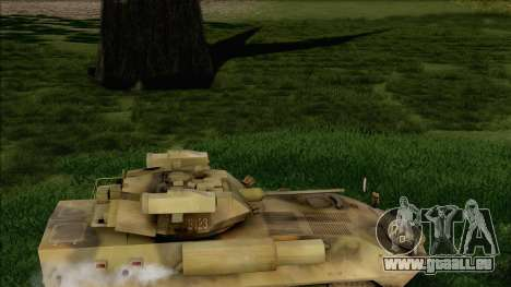Camouflage forêt LAV-25 pour GTA San Andreas vue de droite