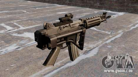 Fusil d'assaut FN FNC pour GTA 4 secondes d'écran