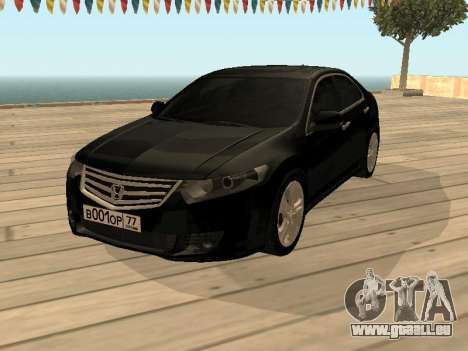 Honda Accord 2010 V2.0 pour GTA San Andreas