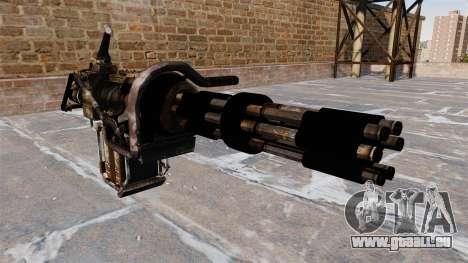 GAU-19 Maschinengewehr. für GTA 4