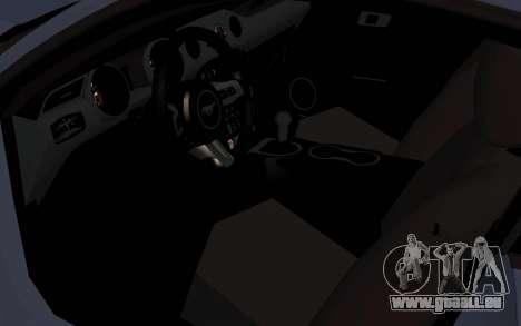 Ford Mustang GT 2015 für GTA San Andreas Rückansicht