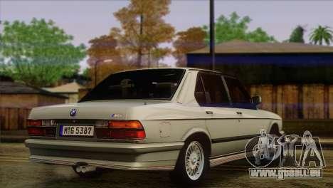 BMW M5 E28 für GTA San Andreas linke Ansicht