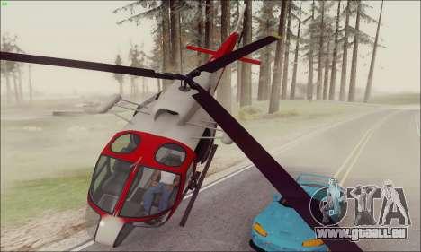 GTA V Ambulacia Maverick pour GTA San Andreas laissé vue