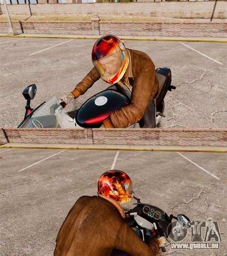 Casques Biker pour GTA 4 secondes d'écran