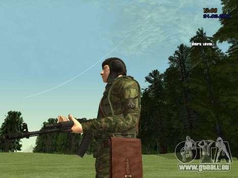 Panzerschütze für GTA San Andreas achten Screenshot
