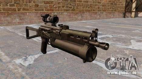 Submachine gun pp-19 Bizon pour GTA 4