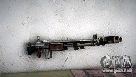 Browning M1918 für GTA San Andreas
