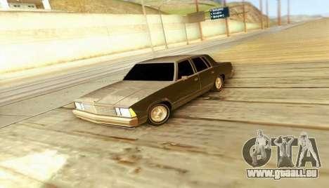 Chevrolet Malibu 1981 pour GTA San Andreas