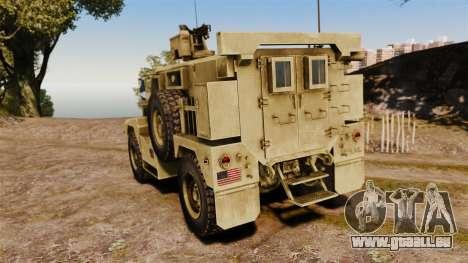 Cougar MRAP 4X4 für GTA 4 hinten links Ansicht