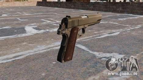 Colt M1911 Pistole für GTA 4 Sekunden Bildschirm