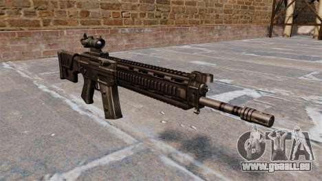 Fusil automatique SIG SG 751 pour GTA 4