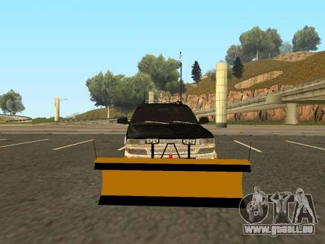 Chevrolet Suburban für GTA San Andreas linke Ansicht