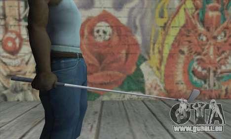 Putter von GTA V für GTA San Andreas dritten Screenshot