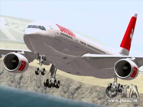 Airbus A330-223 Swiss International Airlines pour GTA San Andreas