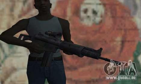 FN FNC pour GTA San Andreas troisième écran