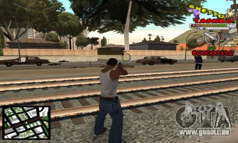 C-Hud Getto Tawer pour GTA San Andreas