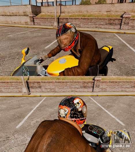 Casques Biker pour GTA 4