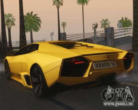 Lamborghini Reventon 2008 SLOD für GTA San Andreas linke Ansicht