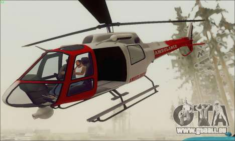 GTA V Ambulacia Maverick pour GTA San Andreas
