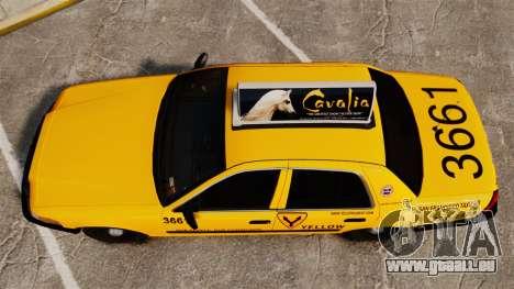 Ford Crown Victoria 1999 SF Yellow Cab für GTA 4 rechte Ansicht