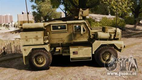 Cougar MRAP 4X4 pour GTA 4 est une gauche