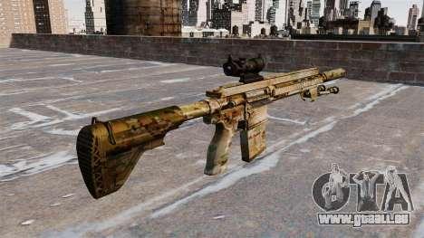 HK417 Gewehr für GTA 4 Sekunden Bildschirm