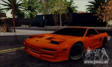 Acura NSX Drift für GTA San Andreas
