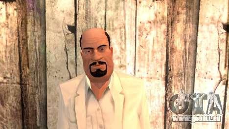 Joseph Clarence pour GTA San Andreas troisième écran