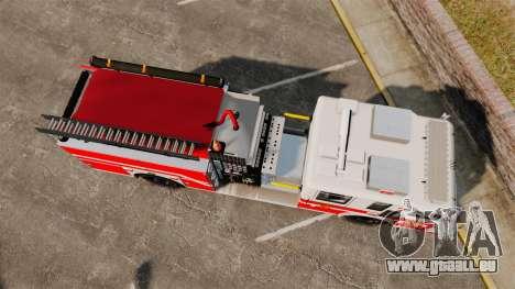 Firetruck Woonsocket [ELS] pour GTA 4 est un droit