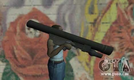 ATGM Launcher für GTA San Andreas dritten Screenshot