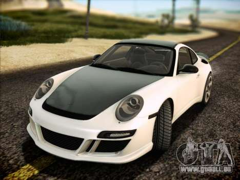 RUF RT12S für GTA San Andreas Unteransicht