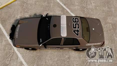 Ford Crown Victoria 2008 Sheriff Patrol [ELS] für GTA 4 rechte Ansicht