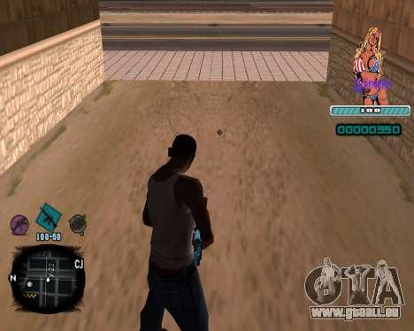 C-HUD Quintero pour GTA San Andreas deuxième écran