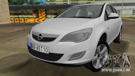 Opel Astra 2011 für GTA Vice City