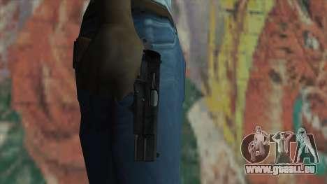 Le pistolet de Fallout New Vegas pour GTA San Andreas troisième écran