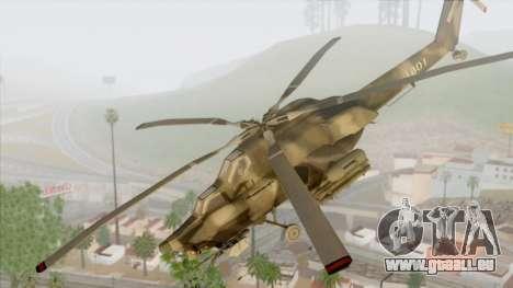 Mil Mi-28 für GTA San Andreas